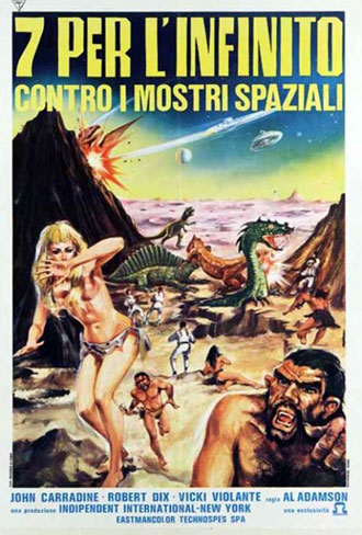 Affiche italienne de 'Horror of the Blood Monsters'