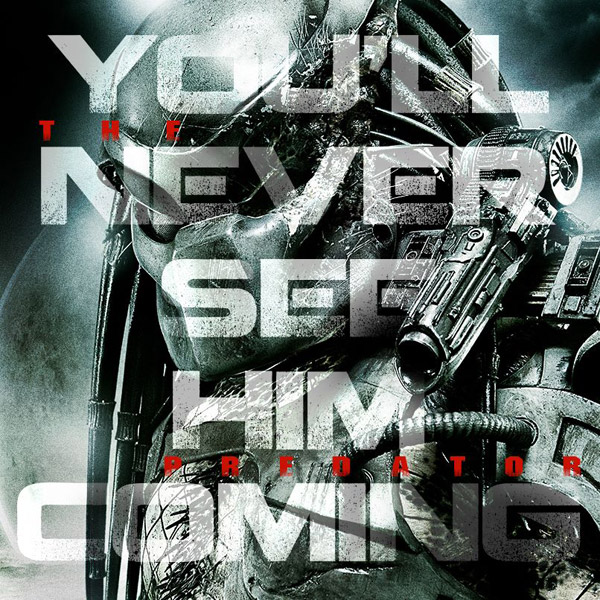 Affiche américaine de 'The Predator'