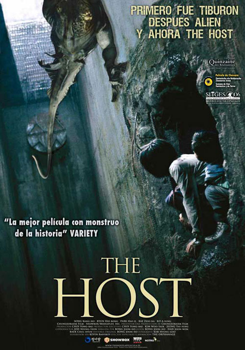 Affiche espagnole de 'The Host'