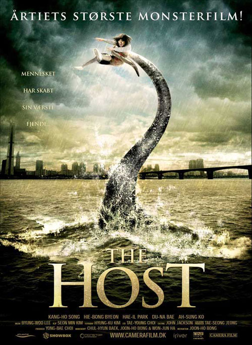 Affiche danoise de 'The Host'
