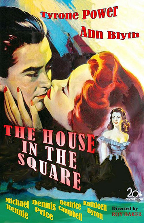 Unknown poster from the movie House in the Square (The House in the Square)