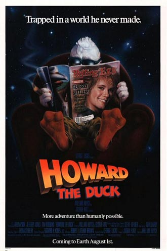 Us poster from the movie Howard the Duck