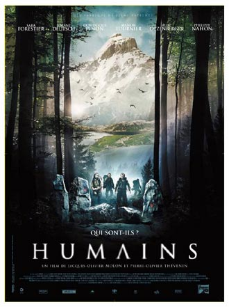 French poster from the movie Humains