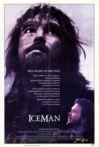 Unknown poster from the movie Iceman