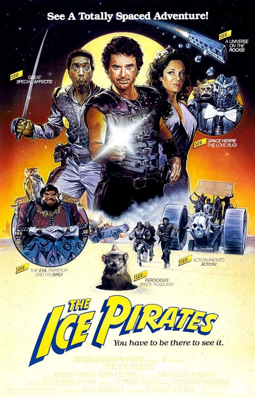 Us poster from the movie The Ice Pirates