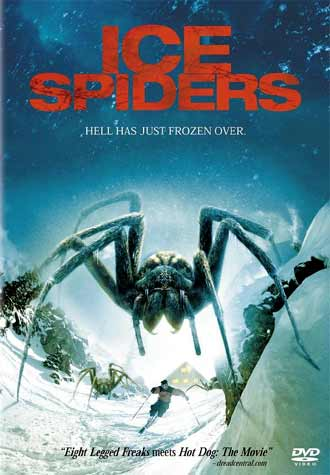 Unknown artwork from the TV movie Ice Spiders