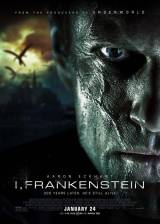 Movie poster from I, Frankenstein, in theaters on January 24, 2014