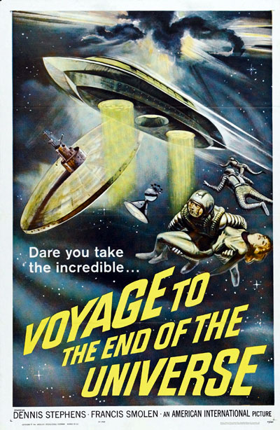 Us poster from the movie Voyage to the End of the Universe (Ikarie XB 1)