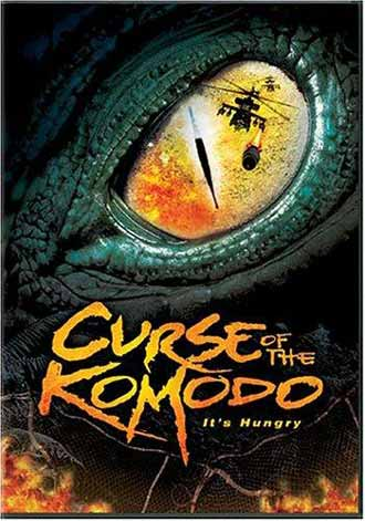 French poster from the movie The Curse of the Komodo