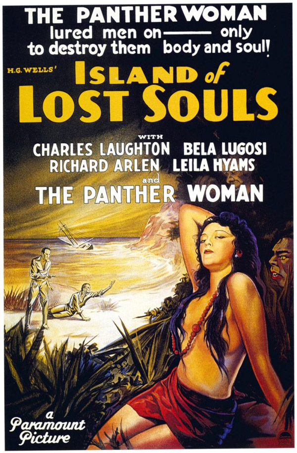 Us poster from the movie Island of Lost Souls