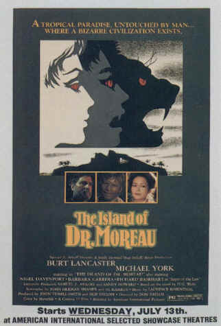 Us poster from the movie The Island of Dr. Moreau