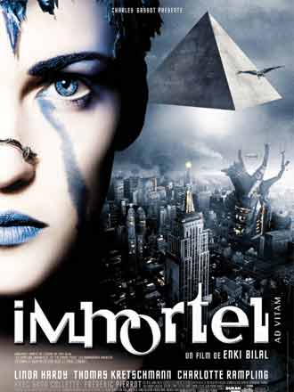 French poster from the movie Immortel