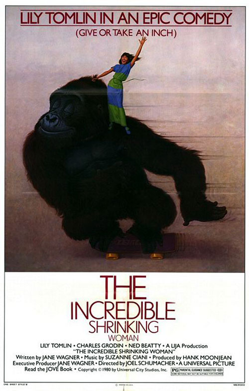 Us poster from the movie The Incredible Shrinking Woman