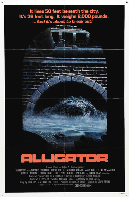 Us poster from the movie Alligator