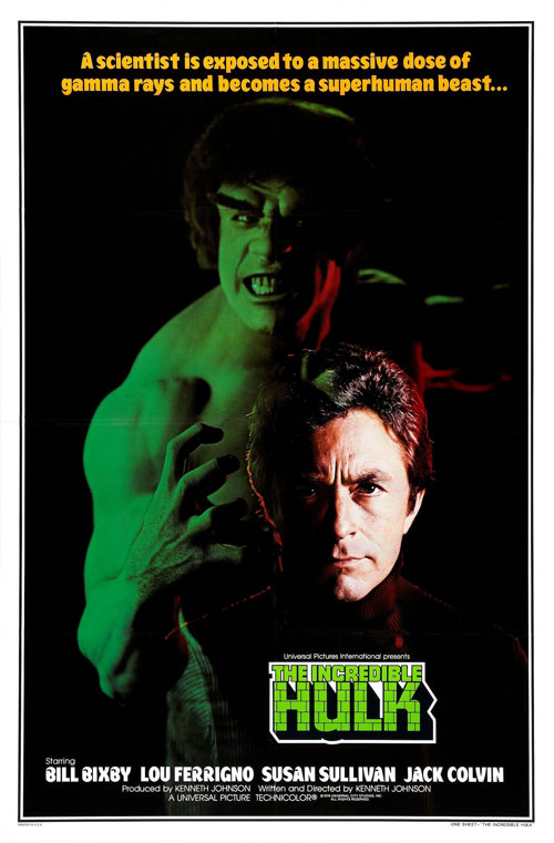 Us poster from the series The Incredible Hulk