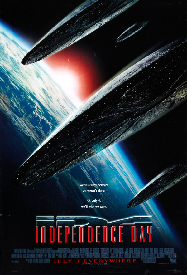 Affiche américaine de 'Independence Day'