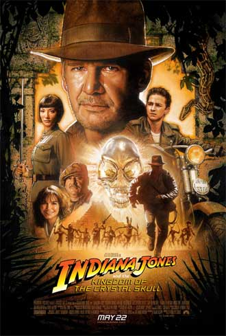 Us poster from the movie Indiana Jones and the Kingdom of the Crystal Skull