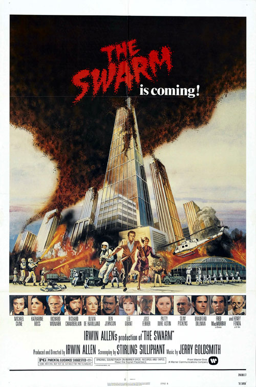 Us poster from the movie The Swarm