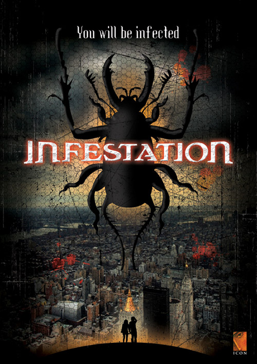 Us poster from the movie Infestation