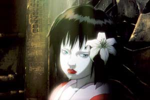 Sinister female dolls, called gynoids, are killing their owners - Innocence - Ghost in the Shell 2 (Innocence)