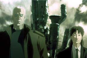 Detectives Batou and Togusa - Innocence - Ghost in the Shell 2 (Innocence)