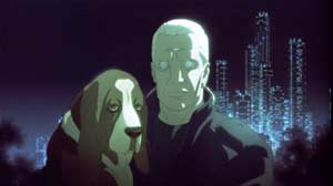 Detective Batou values his dog - Innocence - Ghost in the Shell 2 (Innocence)