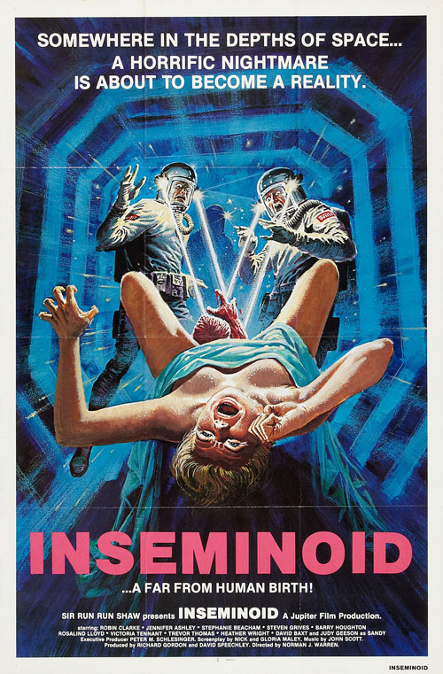Us poster from the movie Horror Planet (Inseminoid)