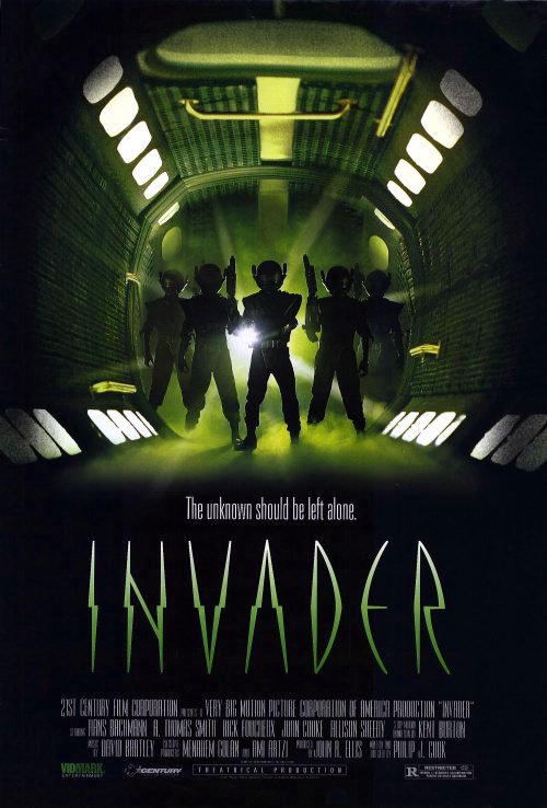 Us poster from the movie Invader