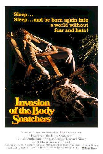 Us poster from the movie Invasion of the Body Snatchers