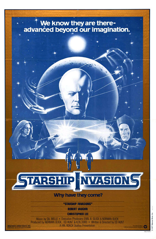Us poster from the movie Starship Invasions