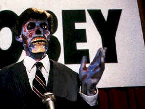 Our world is invaded by aliens - They Live
