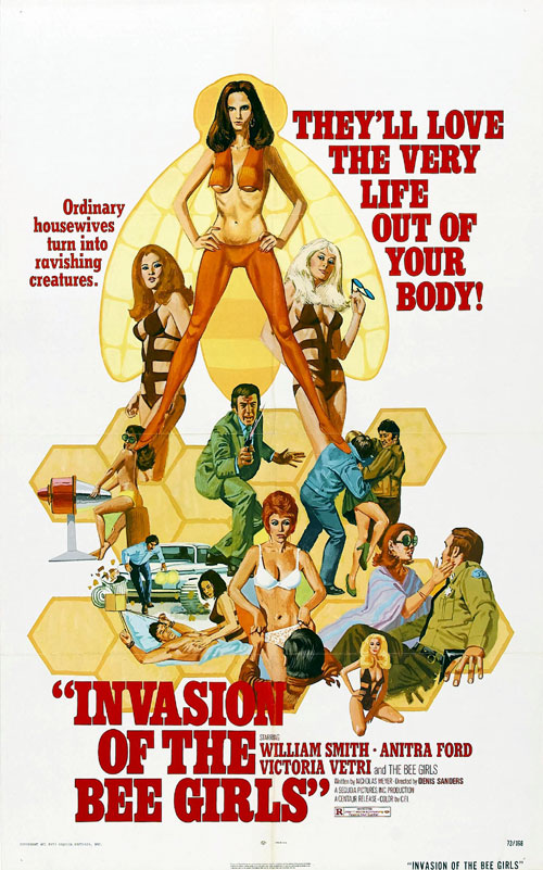 Us poster from the movie Invasion of the Bee Girls