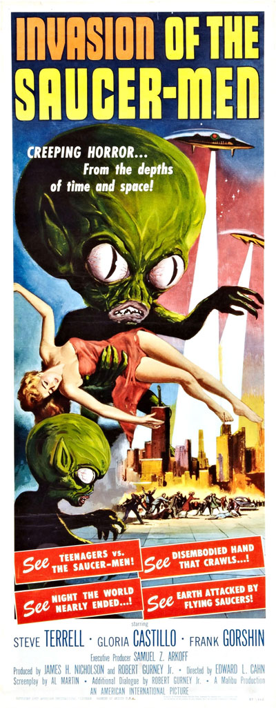 Removed invasion of the saucer men movie