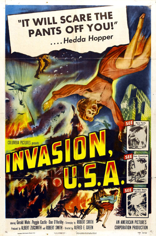Us poster from the movie Invasion USA