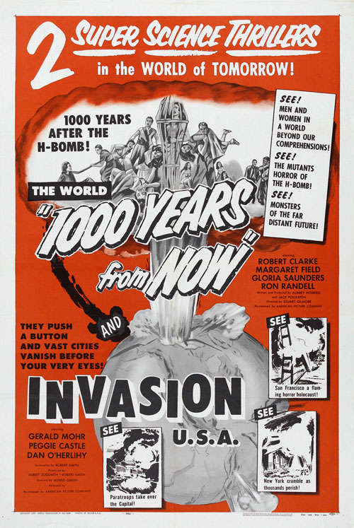 Affiche américaine de 'Invasion USA'