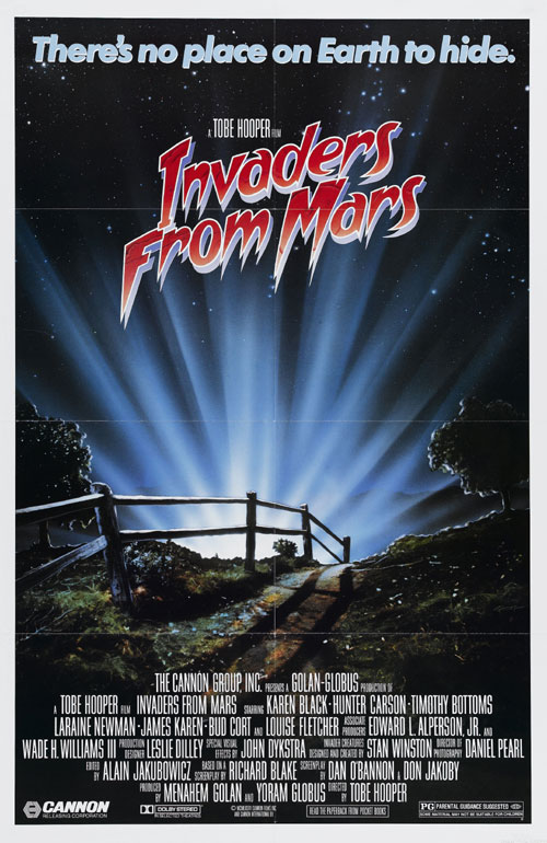 Us poster from the movie Invaders from Mars
