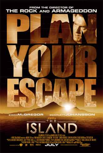 Us poster from the movie The Island