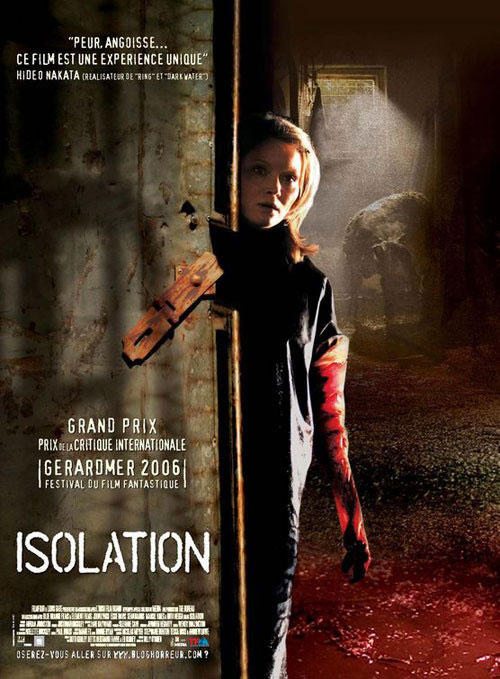 French poster from the movie Isolation
