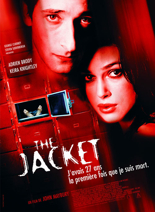 Affiche française de 'The Jacket'
