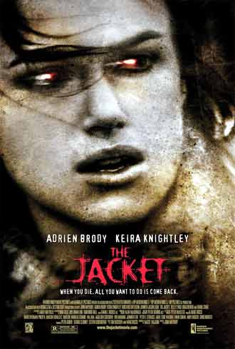 Affiche américaine de 'The Jacket'
