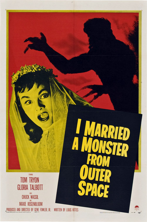 Us poster from the movie I Married a Monster from Outer Space