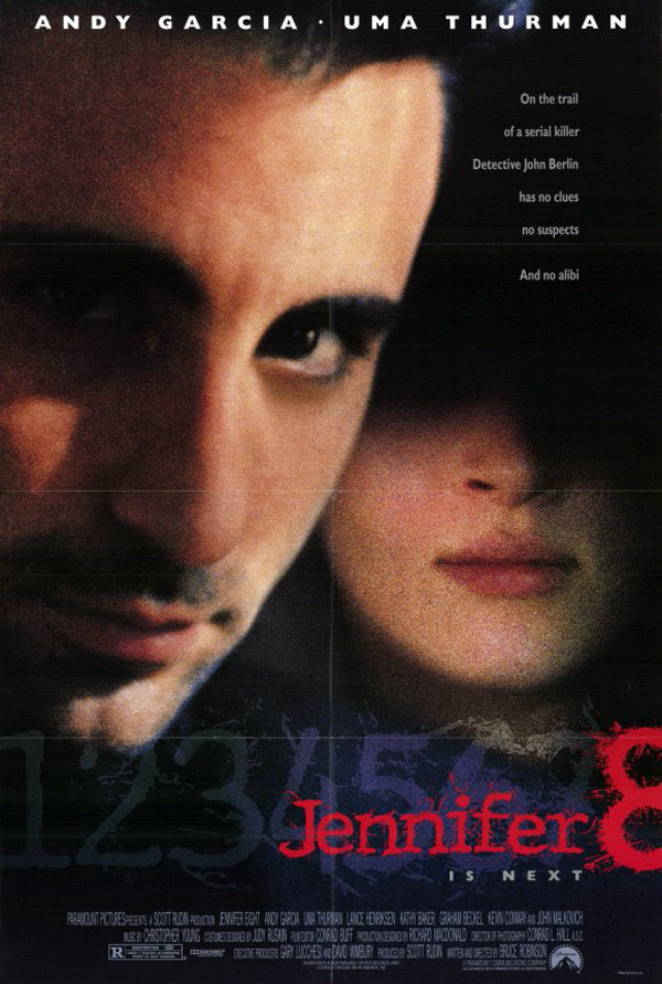 Us poster from the movie Jennifer Eight