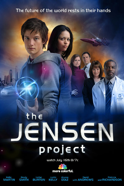 Us poster from the TV movie The Jensen Project