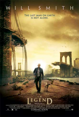 Us poster from the movie I Am Legend