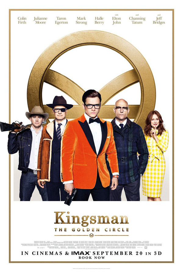 Us poster from the movie Kingsman: The Golden Circle