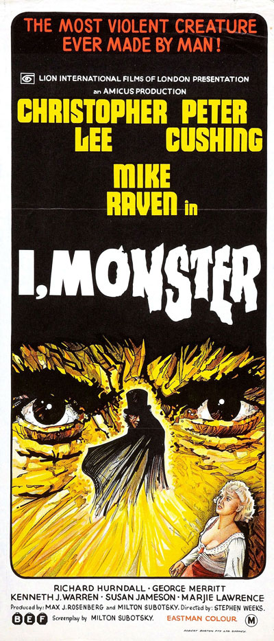 Unknown poster from the movie I, Monster