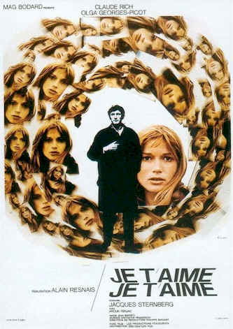 French poster from the movie Je t'aime, je t'aime