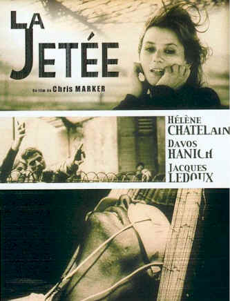 French poster from the movie La jetée