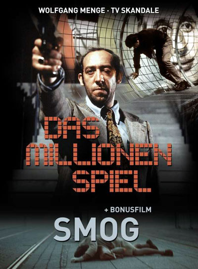 German poster from the TV movie The Millions Game (Das Millionenspiel)