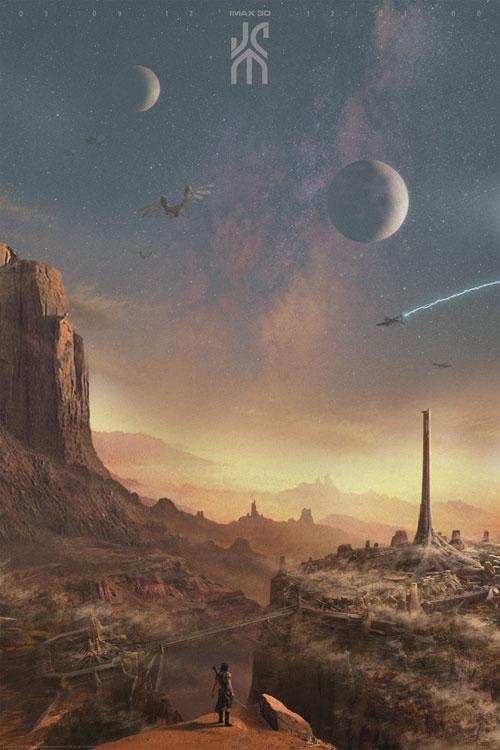 Affiche internationale de 'John Carter'